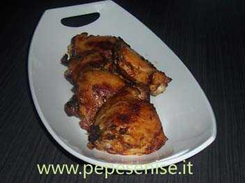 SOVRACOSCE DI POLLO IN SALSA BARBECUE
