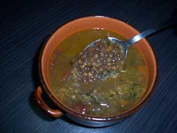 Zuppa di lenticchie le ricette di pepesenise for Lenticchie d acqua