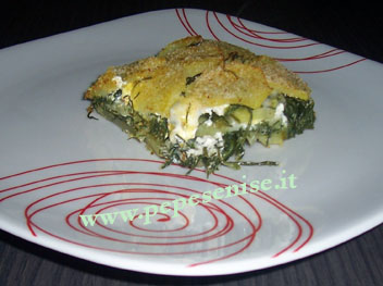 TORTINO DI AGRETTI E PATATE